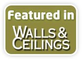 Featured in Walls and Ceilings